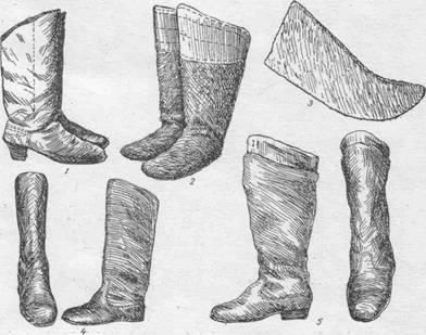 Сапоги короткие штаны и колготки с