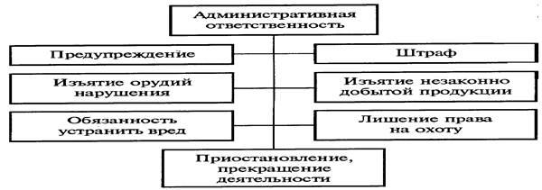 Схема административного