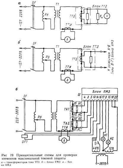Принципиальная схема аппаратуры аук-1м